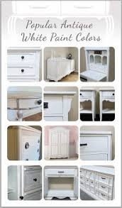 popular antique white paint colors chalk paint painted furniture chalk paint colors furniture ideas