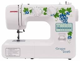 <b>Швейная машина Janome Grape</b> 2016