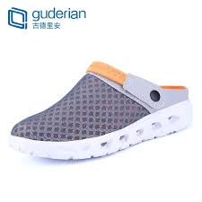 <b>GUDERIAN</b> Mesh Summer <b>Shoes Men</b> Breathable Slippers <b>Sandals</b> ...