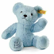 Steiff My First 4001505664724 <b>Teddy Bear</b> Blue 664724 <b>24cm</b> ...