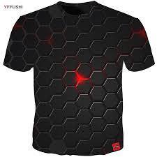 <b>YFFUSHI 2018</b> Plus Size 5XL <b>Male 3d</b> t shirt Fashion Summer T ...