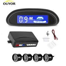 <b>Car Auto Parktronic LED</b> Parking Radar With 4 Parking Sensors ...