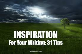 ways to inspiration for your writing