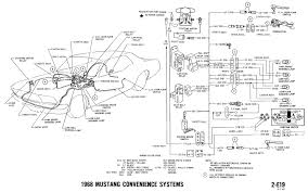 1968 mustang wiring diagrams and vacuum schematics average joe 1968 mustang wiring diagram convenience systems