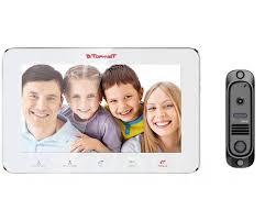 Комплект <b>видеодомофона Tornet TR-29 IP W</b>/412Bl ...