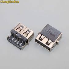 <b>ChengHaoRan</b> 1pcs 90 degree 4 Feet 2.0 USB female Jack ...