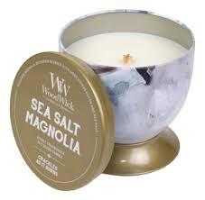 <b>Ароматическая свеча</b>-чаша <b>Sea</b> Salt Magnolia 241г (средняя ...