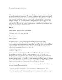 Example Resume  Objectives For Management Resume  sales manager or