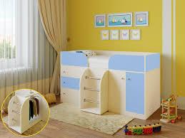 <b>Кровать</b>-<b>чердак РВ Мебель Астра</b>-<b>5</b> Дуб Молочный Дуб ...