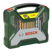 <b>Bosch X</b>-<b>Line 70</b> piece Mixed Drill bit Set | Departments | DIY at B&Q