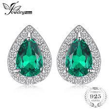 <b>JewelryPalace Fashion</b> 0.85ct Nano Simulated Russian Emerald ...
