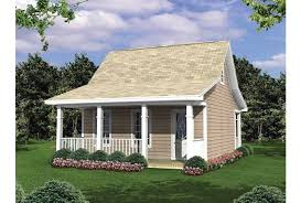Eplans Cottage House Plan   Easy to Build Camp Plan for Outdoor    Front