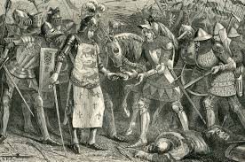 battle of poitiers capture of king john of at the battle of poitiers on 19th 1356 in