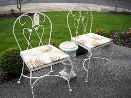 antique wrought iron patio furniture antique rod iron patio