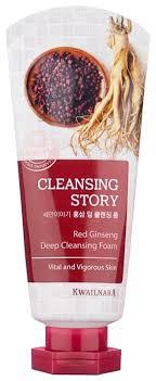 Kwailnara <b>пенка для умывания</b> Cleansing Story <b>Red</b> Ginseng ...