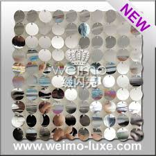 mirror wall decor circle panel:   glitter panel for mirrored wall art