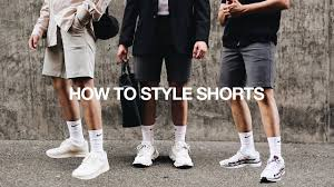 HOW TO STYLE <b>SHORTS</b> / 3 <b>Simple</b> & <b>Easy</b> Ways | Men's <b>Summer</b> ...