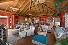 virgin islands vacation rentals usvi getaway the living area in great room opens onto balcony and office caribbean life hgtv law office interior
