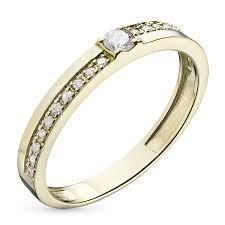 <b>Кольцо</b> из желтого золота с <b>бриллиантами</b> – купить в Москве по ...