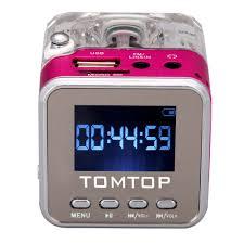 Digital Portable Music MP3/4 Player <b>Micro SD</b>/<b>TF</b> USB Disk Speaker ...