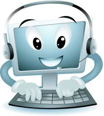Image result for animated computer with 0 1