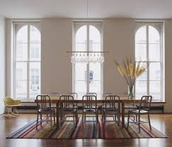 Contemporary Chandeliers Dining Room Linear Chandelier Dining Room Contemporary With Contemporary