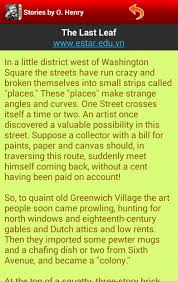 english short story  ohenry  android apps on google play english short story  ohenry screenshot