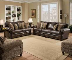 Upholstery Living Room Furniture Simmons Upholstery 7531 Miracle Bonded Leather Living Room Set By