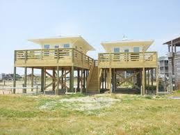 Beachfront Tiny Houses On Stilts Beach House  stilt home