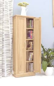 baumhaus mobel oak dvd storage cupboard cor17b baumhaus mobel oak medium