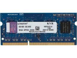 <b>Kingston 4GB 1600MHz DDR3L</b> Non-ECC CL11 SODIMM 1.35V - 4 ...