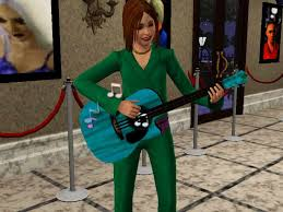 the sims teenagers high school r ce part time jobs a teen playing guitar in the sims 3