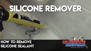 How to remove <b>silicone sealant</b> - YouTube