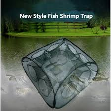 Automatic Fish Net Trap Fishing Net <b>Shrimp Cage</b> | Shopee Malaysia
