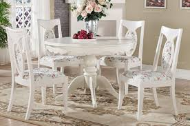 country white dining room interior