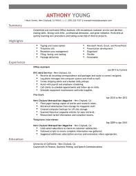 best office assistant resume example   livecareeredit