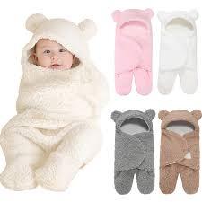 Baby TOP Baby Newborn Soft Fleece Blanket <b>Warm</b> Cashmere ...