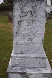 Brown, Waymon Leggett, Aug 24, 1837 - Feb 22, 1927, Pamela Hamrick, picture by John Copham - brownwl