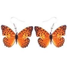 <b>WEVENI Acrylic</b> Drop Dangle Big Morpho Menelaus Butterfly ...