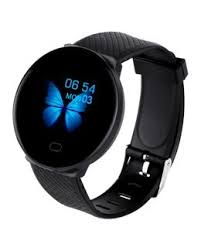 Trusty 1.3 Inch <b>Smartwatch D19</b> (Black) | Buy Accessories online ...