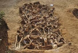 francoist repression spanish civil war mass grave esteacutepar burgos jpg