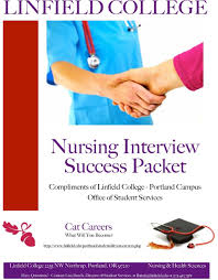 nursing interview success packet pdf transcription