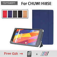 Case For CHUWI Hi8 SE 8 inch tablet, <b>Three fold stand case cover</b> ...