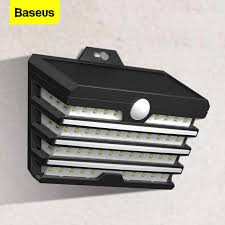<b>Baseus</b> LED Solar Light Outdoor Solar Garden Lights Motion Sensor ...