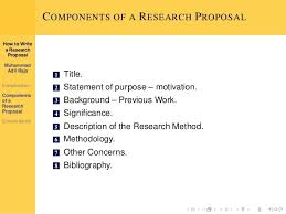 research proposal essay example Writing a Research Proposal