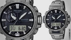 <b>Casio ProTrek PRW</b>-<b>60T</b>-<b>7A</b> - новые аутдор <b>часы</b> с титановым ...