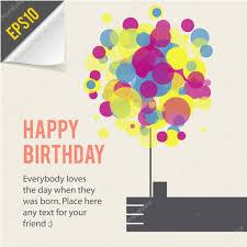 happy birthday card template retro style stock vector © chuhail happy birthday card template retro style stock vector 24881533
