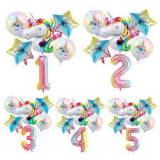 <b>QIFU</b> 32inch Happy <b>Birthday Balloon</b> Foil Number Ballons <b>Birthday</b> ...