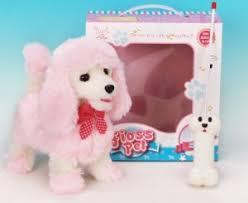"""<b>Радиоуправляемая плюшевая собака</b> """"Пудель"""" (розовый) - 9691B4"""