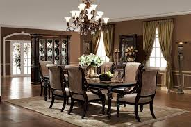 metal dining room chairs chrome: country formal dining room four chrome square metal tapering legs some brown wooden dining chairs rectangular